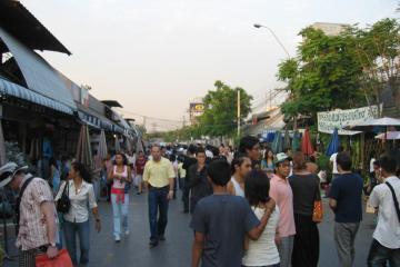 جمعه بازار Chatuchak در بانکوک - تایلند
