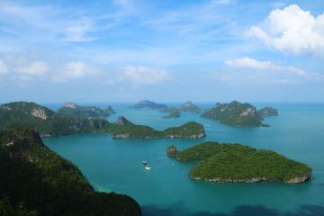 پارک ملی Mu Ko Ang Thong در سامویی - تایلند