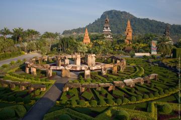 باغ گیاهشناسی Nong Nooch در پاتایا - تایلند