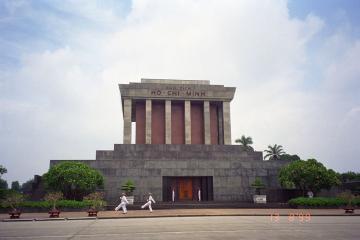 آرامگاه هوشی مین در هانوی - ویتنام