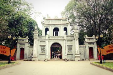 معبد ادبیات (هنر) در هانوی - ویتنام