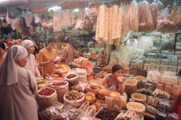 بازار بین تای در هوشی مین - ویتنام