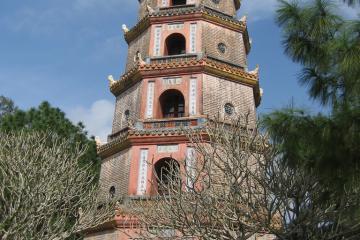 پاگودای تی یِن مو در هوئه - ویتنام